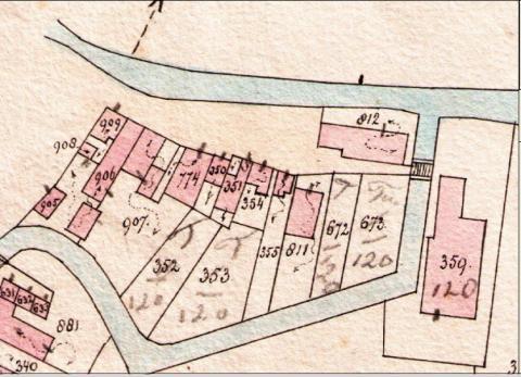Detai Keuningsstreek Ouwe-Syl 1887 Nette plan